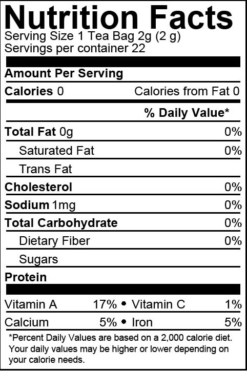 mulberry nutrition facts